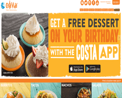 Costa Vida Coupons & Deals