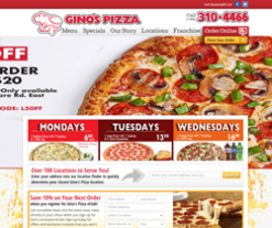 The Original Gino's Pizza Coupons  Ginos Pizza Coupons